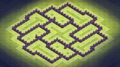 awesome Clash of Clans TH7 Best Hybrid Base  Defense Clip  Effective Traps music: Dubstep Urbanstep  Intelligence