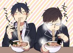 Ao No Exorcist (Blue Exorcist) ~~ Rin and Yukio Ao No Exorcist, Blue Exorcist Anime, Rin Okumura, Sailor Moon, Card Captor, Mini Comic, Noragami, Anime Shows, Anime Love