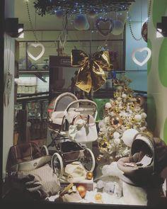 Bebè car in vetrina. Natale 2015