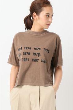 金子綾FRAMeWORKコラボTシャツ ツイカ