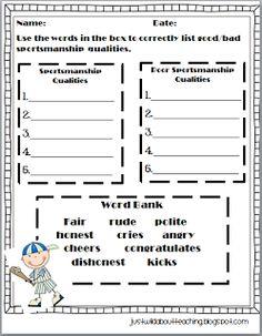 3rd grade sportsmanship lesson. Rock Paper Scissors game | SC ...