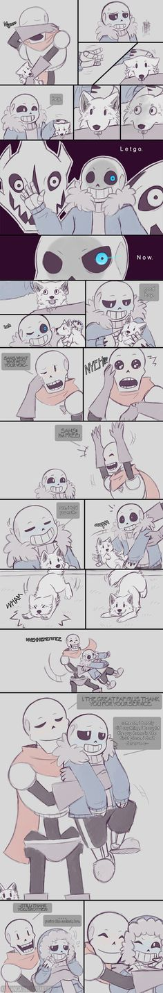 .Undertale: Fancomic - Page 7.+