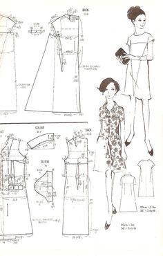cartamodello abito lungo - Cerca con Google