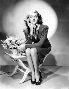 The beautiful, Lana Turner, early-1940s.