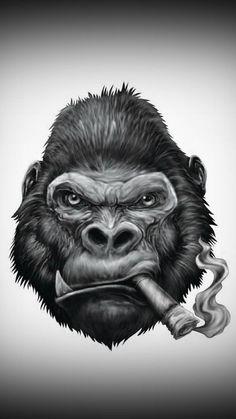 Les 8 meilleures images de dessin gorille | Dessin gorille, Dessin et Dessin graffiti