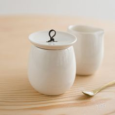 Sugar & Cream Set ++ pigeon toe ceramics