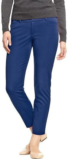 Old Navy Women's The Pixie Skinny-Ankle Pants on shopstyle.com
