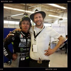 Valentino e Lorenzo Cherubini. Due dei miei Italiani preferiti insieme!!