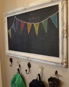 Chalk banner.