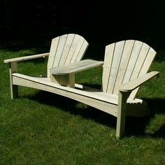 Build A Double Adirondack Chair   Free Project Plan   YellaWood®