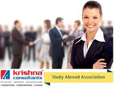 Study Abroad Association with Krishna Consultants.