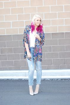 HOW TO STYLE KIMONOS FEATURING CORAL REEF SWIM