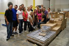 Internet Marketing Inc volunteered at the local San Diego Food Bank - we had a great time.