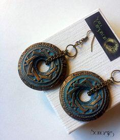 ''Gold Age'' earrings