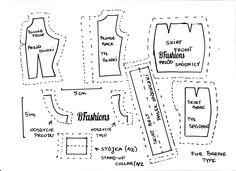 Koszula i spódniczka dla Barbie | BFashions