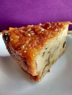 Torta de pan con leche condensada/ y frutos secos.PattyPavlich