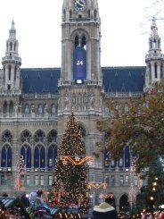 Christkindlmarkt on the Rathausplatz (Vienna)