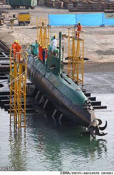 Iranian Ghadir-class coastal patrol submarine