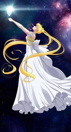 Princess Serenity edited by N. Sailor Moons, Sailor Moon Manga, Sailor Moon Crystal, Arte Sailor Moon, Sailor Moon Fan Art, Sailor Uranus, Sailor Princess, Moon Princess, Anime Princess