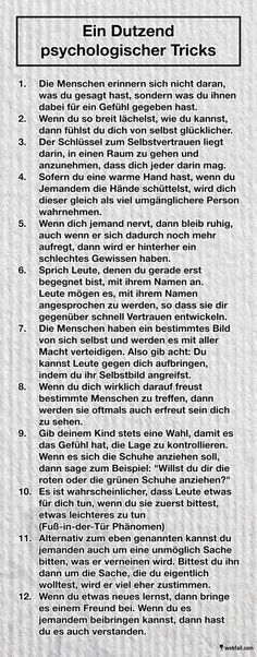 Ein Dutzend psychologischer Tricks - Win Bild Aware and avoid. Or use and grow. // A few psychological tricks with which we consciously and unconsciously influence and are influenced.