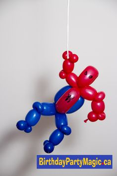Watch out! Here comes the #Spiderman ! #balloon