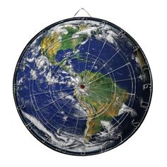Earth Our World Dart Board