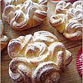 Brioches celtes - La petite pâtisserie d'iza. SO BEAUTIFUL!