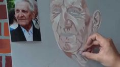 Pastel portrait - how to draw it - step by step lesson