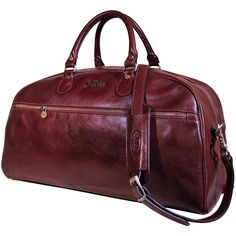 Floto Collection Sport Duffle in Vecchio Brown Italian Calfskin Leather * Check out this great product.