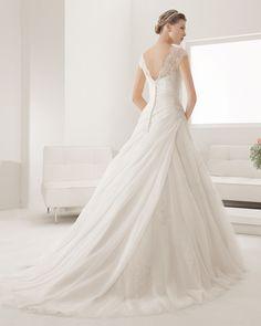 8B194 PROSA | Wedding Dresses | 2015 Collection | Alma Novia (back)