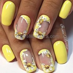 Nothing beats the yellow theme this summer. Be vibrant and bold with yellow matte and flower designs on your nails. The frame design of the…