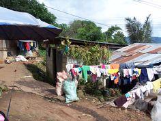 Laundry day - village around Chiang Mai