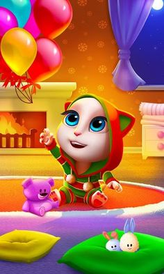 My Talking Angela v3.0.0.45 (Mod Money) Apk Mod  Data http://www.faridgames.tk/2017/03/my-talking-angela-v30045-mod-money-apk.html