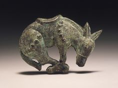 Charm in the Form of a Saddled Mule Northwest China, Han dynasty, 206 BCE-220 CE/