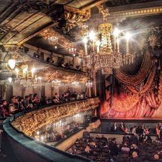 A look inside the magnificent Mariinsky theatre in Saint Petersburg, Russia. The Tsar,  his family, and the Imperial court attended performances amidst its gilded splendor.  Photographer: Katya Zhukova