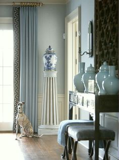 Chinoiserie Chic - An Overview of Decorating with Asian Themes | source unknown