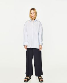 ZARA - SALE - PRINTED OVERSIZED SHIRT