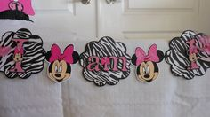 Minnie Mouse Birthday Hi-Chair Banner by ASweetCelebration on Etsy Birthday Chair, Minnie Mouse Party Decorations, Minnie Birthday, High Chair Banner, Party Planning, Cute, Party Ideas, Etsy, Birthday Highchair