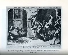 King Lear at the Haymarket Theatre, 1767