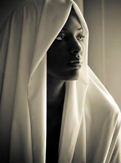 Woman #black #white #photography