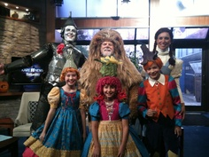 Our cast members at Kare 11 news. Children's Theatre Company's 2011-2012 production of The Wizard of Oz.