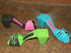 Jennifer Collector of Hobbies: Very cute High heel shoes candy boxes