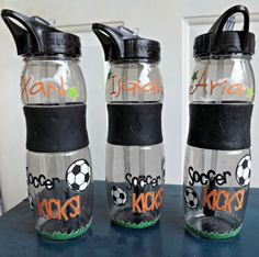 Water bottles made with Square1 Masterpiece. The Anti-Vinyl! For more info click here:  https://www.osiaffiliate.com/square1/redir.php?oid=1086_1