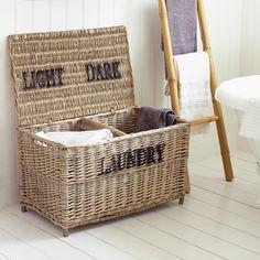 Wicker Laundry Basket - Storage - Home Accessories
