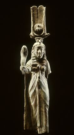 Isis Holding a Cobra late 1st century BC-AD 2nd century (Roman)