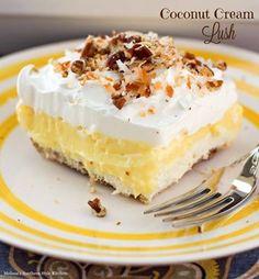 Coconut Cream Lush - yum!