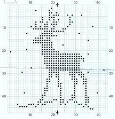 "Вязание. Жаккард - ""Зимняя радуга"" Xmas Cross Stitch, Just Cross Stitch, Cross Stitch Cards, Counted Cross Stitch Patterns, Cross Stitching, Cross Stitch Embroidery, Knitting Charts, Knitting Patterns, Hunting Crafts"