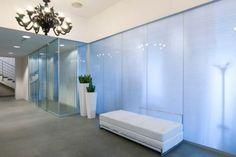 Tabique amovible / de cristal / translúcido / de uso profesional - FREE GLASS - Neoform