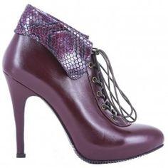 9100 Bordo cu presaj Leather Shoes, Leather Dress Shoes, Leather Boots, Leather Booties