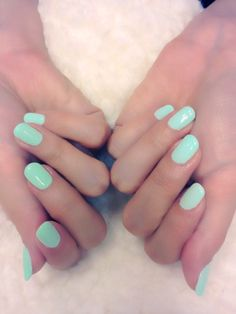 My favorite color on nails!